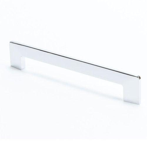R. Christensen Edge 6-5/16 Inch Center to Center Polished Chrome Cabinet Pull 9270-1026-C