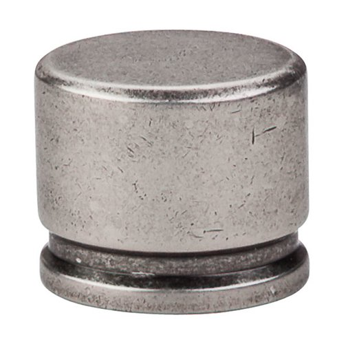 Top Knobs Sanctuary 1-3/8 Inch Length Pewter Antique Cabinet Knob TK61PTA