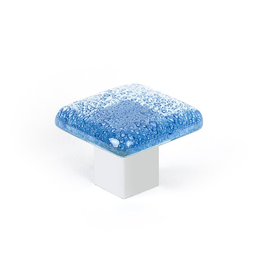 R. Christensen Aqua 1-3/8 Inch Diameter Blue Cabinet Knob 9666-1000-C