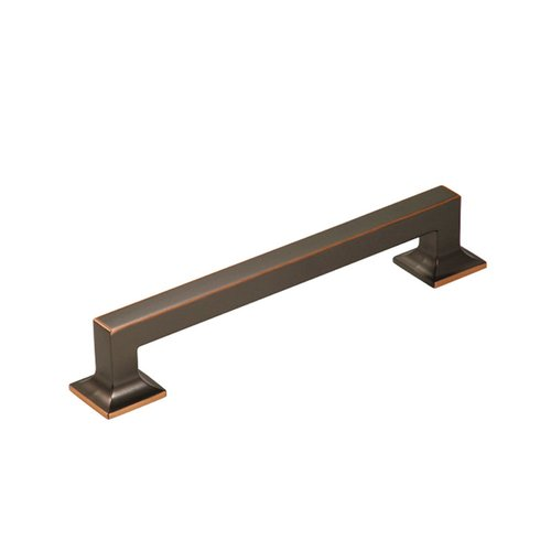 "Studio Collection Appliance Pull 8"" C/C Oil Rubbed Bronze Hi <small>(#P3017-OBH)</small>"