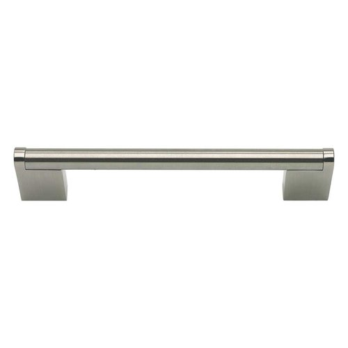 Round 5-1/16 Inch Center to Center Stainless Steel Cabinet Pull <small>(#A857-SS)</small>