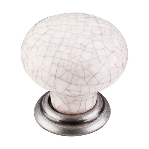 Top Knobs Chateau 1-3/8 Inch Diameter Pewter Antique Cabinet Knob M101