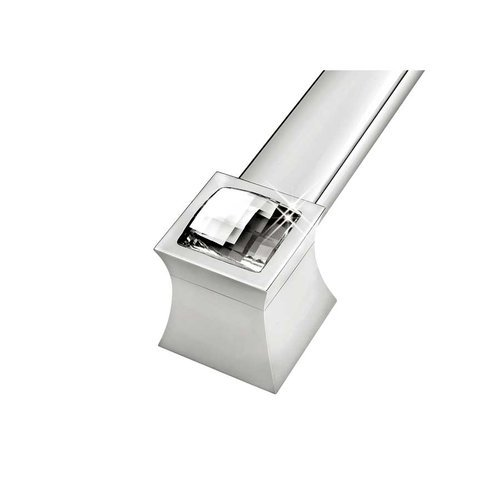 Zen Vitta 19-11/16 Inch Center to Center Diamond Chrome Cabinet Pull ZP0769.92