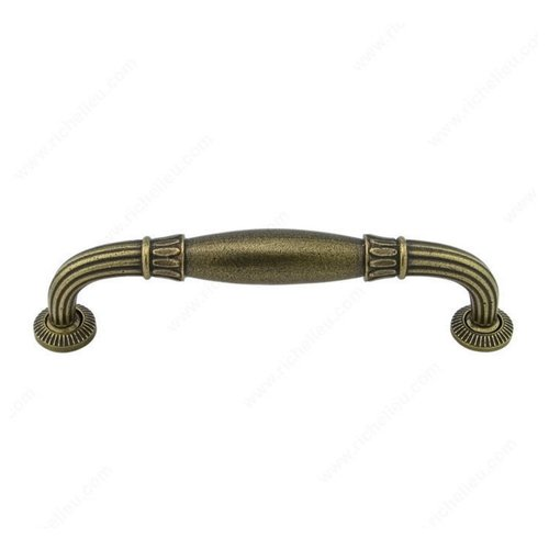 Richelieu Empire 8 Inch Center to Center English Bronze Cabinet Pull 38898132