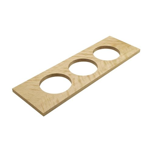 "Hafele Container Holder 22"" W Birch Finish 557.47.840"