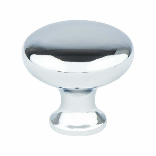Berenson Advantage Plus 2 1-1/8 Inch Diameter Polished Chrome Cabinet Knob 1773-126-P