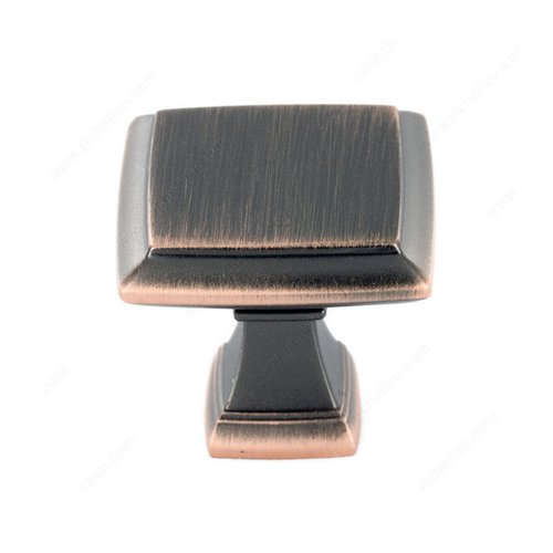 Richelieu Heritage 1-1/2 Inch Diameter Oil-Rubbed Bronze Cabinet Knob 501238BORB