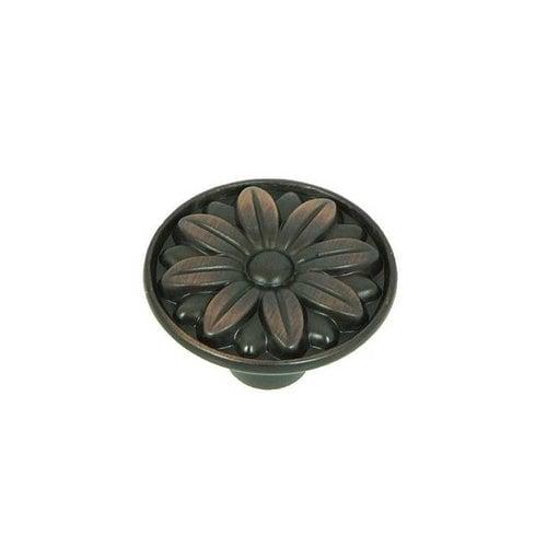 Stone Mill Hardware Cornell 1-1/4 Inch Diameter Oil Rubbed Bronze Cabinet Knob CP81521-OB