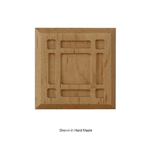 Brown Wood Mission Tile Unfinished Cherry 01902111CH1