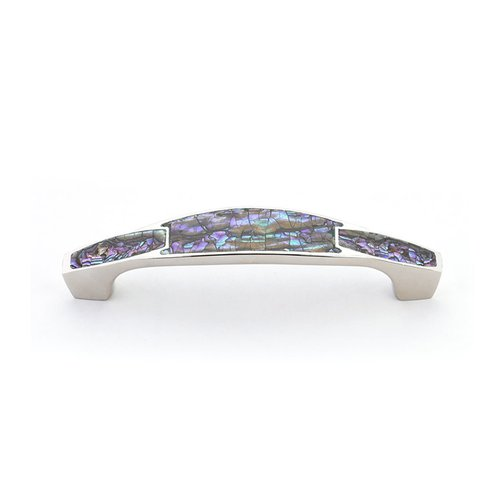 Schaub and Company Tiger Penshell 4 Inch Center to Center Tiger Penshell, Estate Dover Cabinet Pull 992-4-PEN/ED