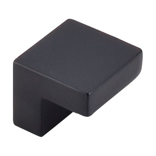 Top Knobs Nouveau III 5/8 Inch Center to Center Flat Black Cabinet Knob M1165