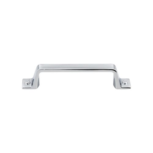 Top Knobs Barrington 3-3/4 Inch Center to Center Polished Chrome Cabinet Pull TK743PC