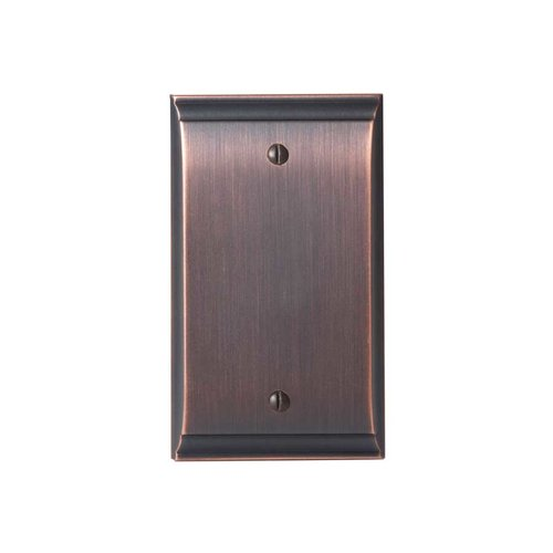 Amerock Candler Blank Wall Plate Oil Rubbed Bronze BP36513ORB