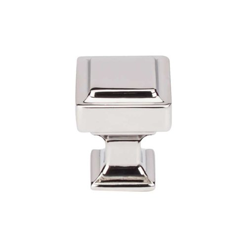 Top Knobs Transcend 1 Inch Diameter Polished Nickel Cabinet Knob TK700PN