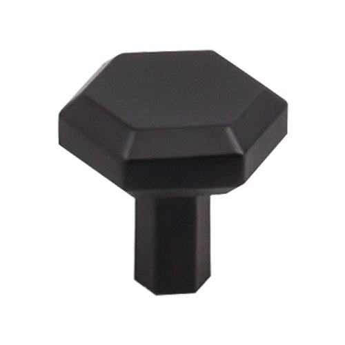Top Knobs Serene 1-1/8 Inch Diameter Flat Black Cabinet Knob TK791BLK