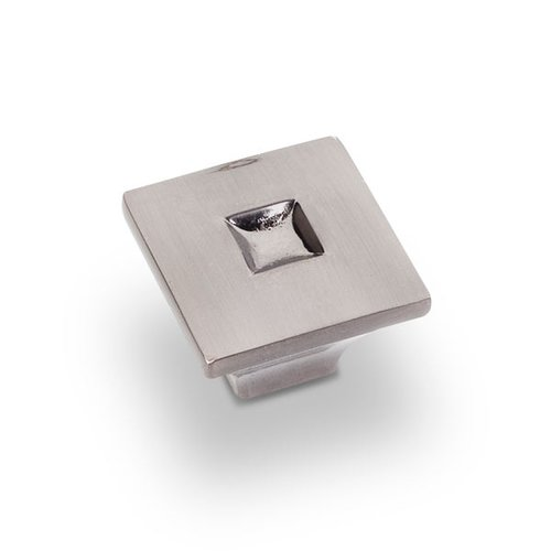 Jeffrey Alexander Modena 1-3/16 Inch Diameter Satin Black Nickel Cabinet Knob 910SBN