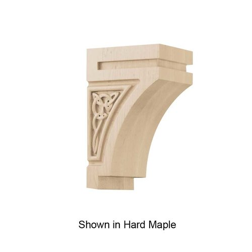 Brown Wood Gaelic Small Corbel Unfinished Walnut 01600628WL1