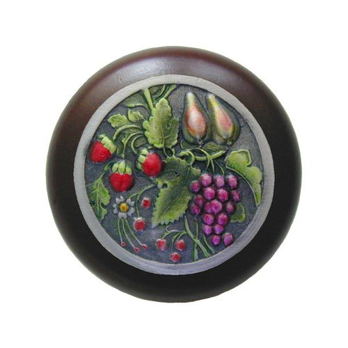 Notting Hill Tuscan 1-1/2 Inch Diameter Pewter Hand Tinted Cabinet Knob NHW-713W-PHT