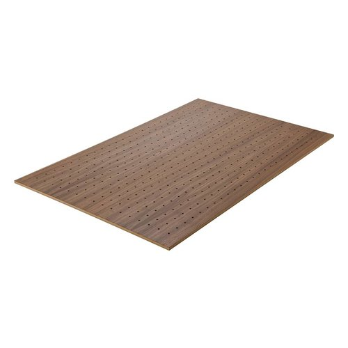 "Hafele Base Plate 22"" X 34"" X 3/8"" Walnut 557.47.710"