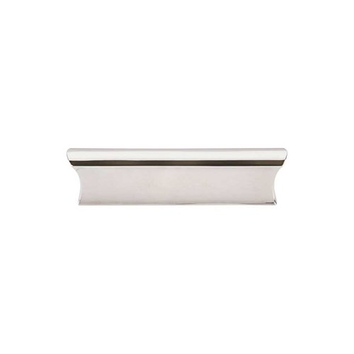 Top Knobs Mercer 3 Inch Center to Center Polished Nickel Cabinet Pull TK553PN