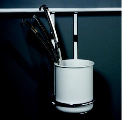 Kessebohmer Utensil Holder For Backsplash Rail System Stainless Look 521.61.635