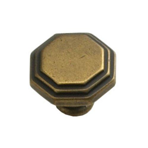 Schaub and Company Firenza Designs 1-1/8 Inch Diameter Light Firenza Bronze Cabinet Knob 283-LFBZ