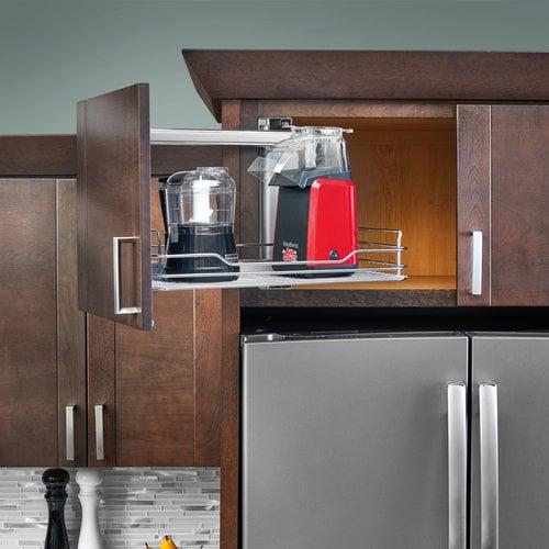 Rev-A-Shelf 5708 Above Appliance Pullout Chrome 5708-15CR