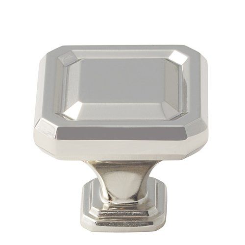 Amerock Wells 1-1/2 Inch Diameter Polished Nickel Cabinet Knob BP36547PN