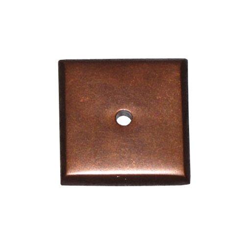Top Knobs Aspen 1-1/4 Inch Diameter Mahogany Bronze Back-plate M1453