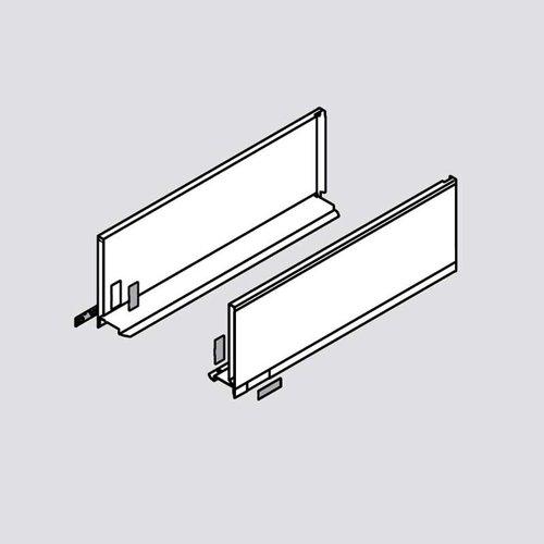 Blum Legrabox C 16 inch Drawer Profile Left/Right Orion Gray 770C4002S
