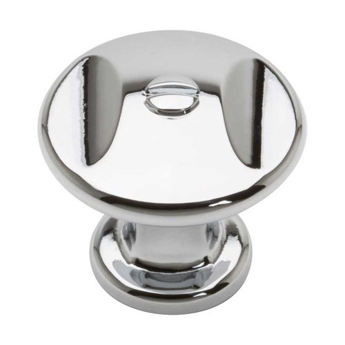 Ergo 1-3/8 Inch Diameter Polished Chrome Cabinet Knob <small>(#A869-CH)</small>