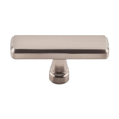 Top Knobs Devon Kingsbridge Knob 2-3/8 inch Diameter Brushed Satin Nickel TK852BSN