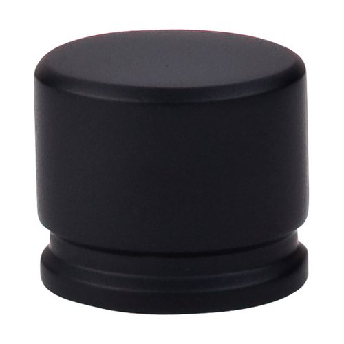 Top Knobs Sanctuary 1-3/8 Inch Length Flat Black Cabinet Knob TK61BLK