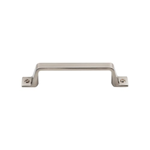 Top Knobs Barrington 3-3/4 Inch Center to Center Brushed Satin Nickel Cabinet Pull TK743BSN
