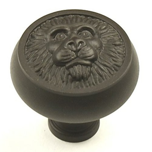 Century Hardware Roman 1-1/2 Inch Diameter Oil Rubbed Bronze Cabinet Knob 19308-10B