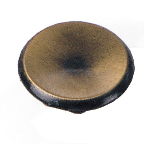 Laurey Hardware Modern Standards 1-1/2 Inch Diameter Antique Brass Cabinet Knob 20205