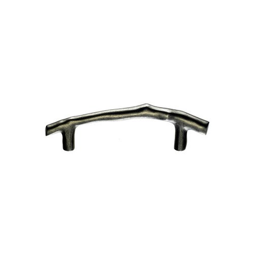 Top Knobs Aspen 3-1/2 Inch Center to Center Silicon Bronze Light Cabinet Pull M1340
