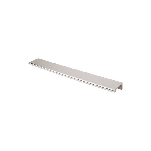 Mercer 12 Inch Length Polished Nickel Finger Pull <small>(#TK506PN)</small>