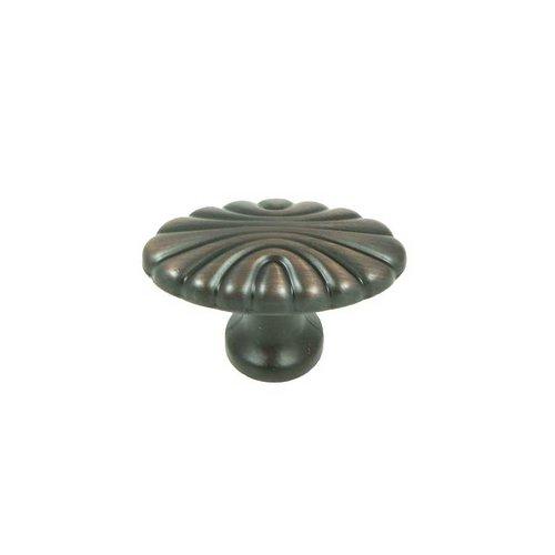 Stone Mill Hardware Vienna 1-5/8 Inch Diameter Oil Rubbed Bronze Cabinet Knob CP30-OB