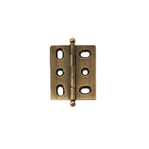 Elite Mortised Butt Hinge 50X40mm - Antique Brass <small>(#354.17.120)</small>