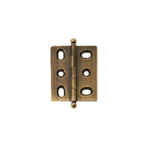Hafele Elite Mortised Butt Hinge 50X40mm - Antique Brass 354.17.120