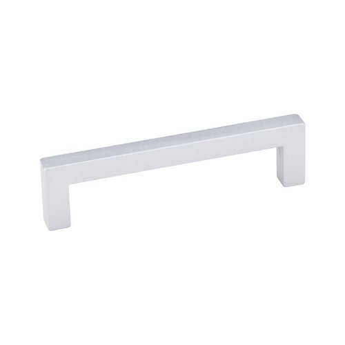 Elements by Hardware Resources Stanton 3-3/4 Inch Center to Center Matte Silver Cabinet Pull 625-96MS