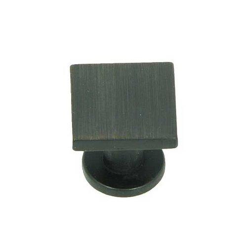 Stone Mill Hardware Milan 1 Inch Diameter Oil Rubbed Bronze Cabinet Knob CP4416-OB