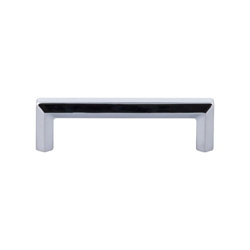 Top Knobs Serene 3-3/4 Inch Center to Center Polished Chrome Cabinet Pull TK793PC
