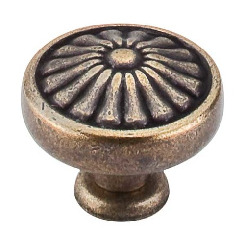 Top Knobs Normandy 1-1/4 Inch Diameter German Bronze Cabinet Knob M1597