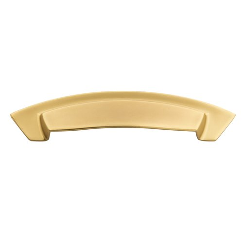 "Hickory Hardware Velocity Dual Mount Cup Pull 3"" & 96MM C/C Flat Ultra Brass HH74642-FUB"