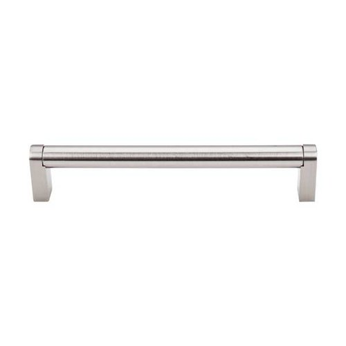 Top Knobs Bar Pull 6-5/16 Inch Center to Center Brushed Satin Nickel Cabinet Pull M1004
