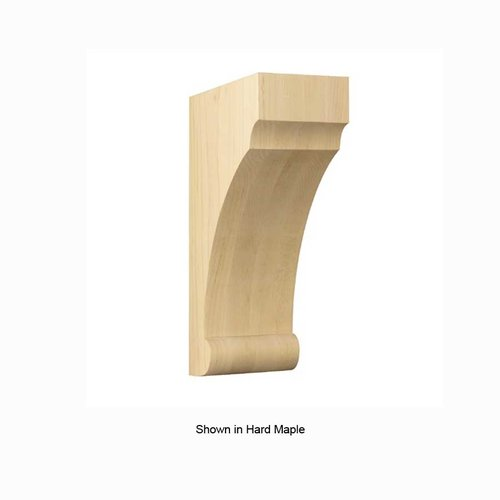 Brown Wood Small Craftsman Corbel Unfinished Quarter Sawn Red Oak 01608009QS1