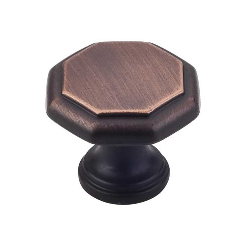 Elements by Hardware Resources Drake 1-3/16 Inch Diameter Brushed Oil Rubbed Bronze Cabinet Knob 424DBAC