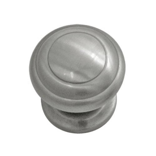 Zephyr 1-1/4 Inch Diameter Satin Nickel Cabinet Knob <small>(#P2283-SN)</small>